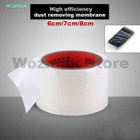Wozniak Haute efficacité Mobile téléphone poussière film retrait membrane ruban Adhésif LCD écran de protection film Verre de protection bande