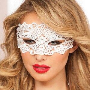 Image 5 - קוספליי תלבושות מין לנשים הולו מתוך תחרה מסיבת מועדון לילה מלכת עין מסכת נקבה ארוטית הלבשה תחתונה סקסי צעצועים למבוגרים משחקים
