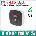 Smoke Detecter Carbon Monoxide Detector Fire Alarm Monitor CO sensor tester with LCD Home Security CO Detector Alarm TM-VKL616