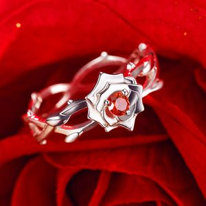 Image 2 - [Fate EXTRA]Nero Anime 925 sterling silver Ring Extella Link CCC Red Saber Hakuno Kishinami Action Figure Fate Grand Order fgo