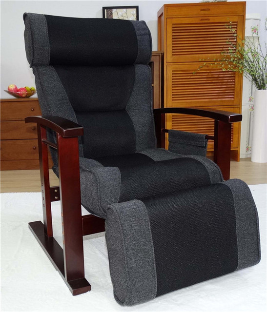 US $242.1 10% OFF|Height Adjustable Leather Recliner With Pull Out Stool Living Room Modern Reclining Sofa Chair Armchair Furniture For Elderly|chair
