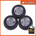 Envío gratis 20 unids/lote Robot Neumático de La Rueda 45X2.5mm juego de Ruedas de Neumáticos de Caucho de Neumático y Llanta de La Rueda Bringsmart