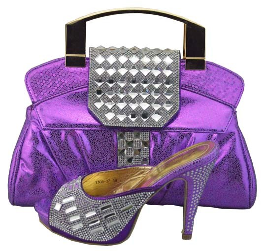 ФОТО Italian Shoes With Matching Bags For Party African Shoes And Bags To Match Set High Quality Ladies Pumps Shoes For Party 1308-37