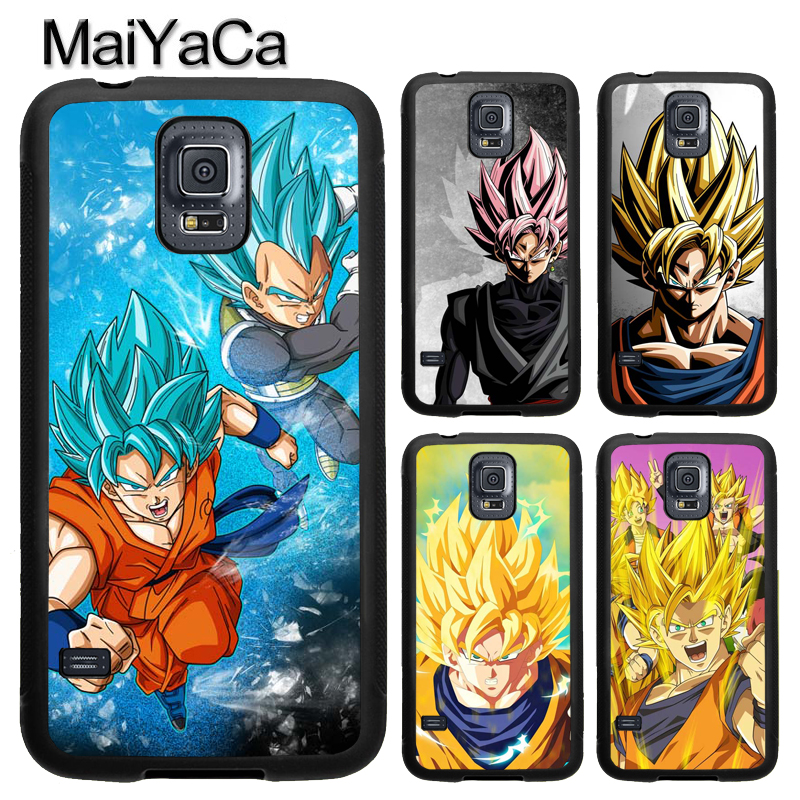 MaiYaCa DRAGON BALL Z Super Black GOKU For Samsung S7 S4 S5 S6 edge S9 S8 Plus Note 8 Note 4 Note 5 Phone Case Coque Protector