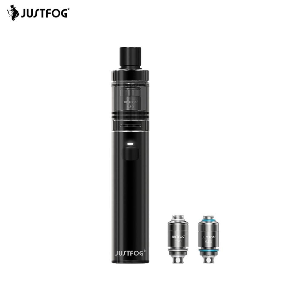Original Justfog FOG1 Starter Kit 1.99ML 1500mAh Capacity Electronic Cigarette Fog One Vape Kit with Childproof Opening System