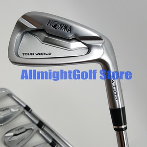 Image 1 - 10 pcs Golf câu lạc bộ HONMA Tour Du Lịch Thế Giới TW737P Sắt Set Sắt Nhóm 3 11.SW Irons Graphite/Thép Shaft R/ S flex Come With Headcover