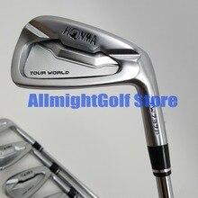 10 pcs TW737P Iron Set Ferro clubes de Golfe HONMA World Tour Grupo 3 11.SW Irons Grafite/Aço Shaft R/ S flex com Barrete