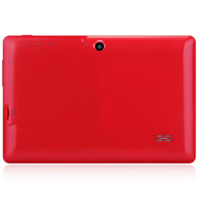 Q88H Tablets Quad Core 7 inch AllWinner A33 1.2GHz Android 4.4  512MB RAM 8GB ROM Dual Cameras Bluetooth WiFi OTG Tablet PCs