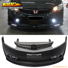 Fit For 06-15 Civic 4Dr RR Style DRL Daytime Running Lamp Signal Lights Kit FD 2PCS USA Domestic Free Shipping Hot Selling