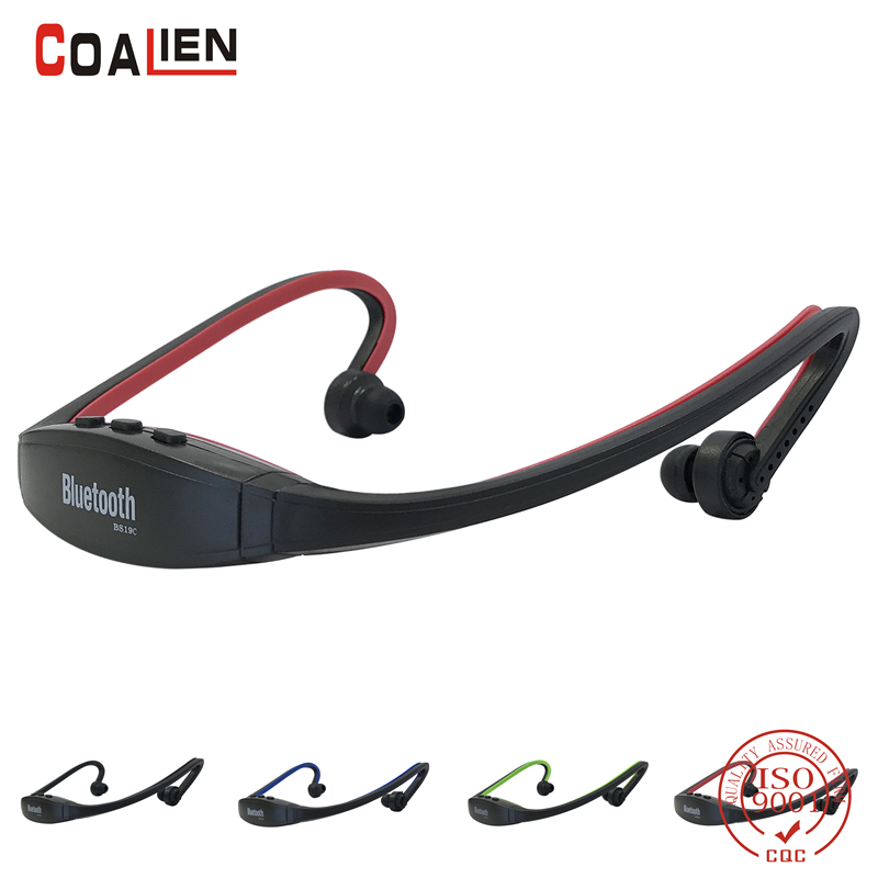 Bluetooth Earphone Wireless Handfree Headset Bluetooth Headphones TF FM Microphone For iphone Huawei XiaoMi Samsung Mobile Phone