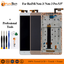 For Xiaomi Redmi Note 3 LCD Display+touch screen+Frame Digitizer panel Tablet Accessory for Redmi Note 3 Pro Prime 150mm 5.5inch for xiaomi redmi note 3 note 3 pro 150mm original new black gold white lcd display touch screen digitizer frame bezel parts
