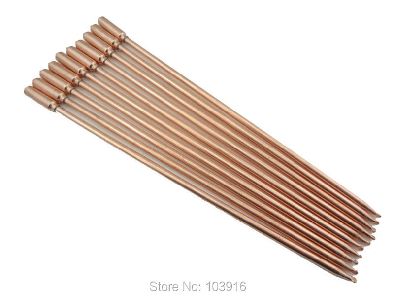 10 pcs lot of 40cm copper heat pipe for solar water heater solar hot water heating split. Black Bedroom Furniture Sets. Home Design Ideas