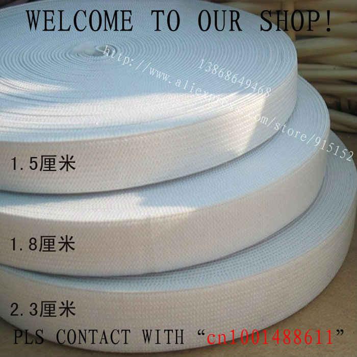 5-20 cm genişlik beyaz blacck dikiş elastik bantlar konfeksiyon aksesuarları DIY Tığ Işi kemer ücretsiz kargo elastik lastik bant