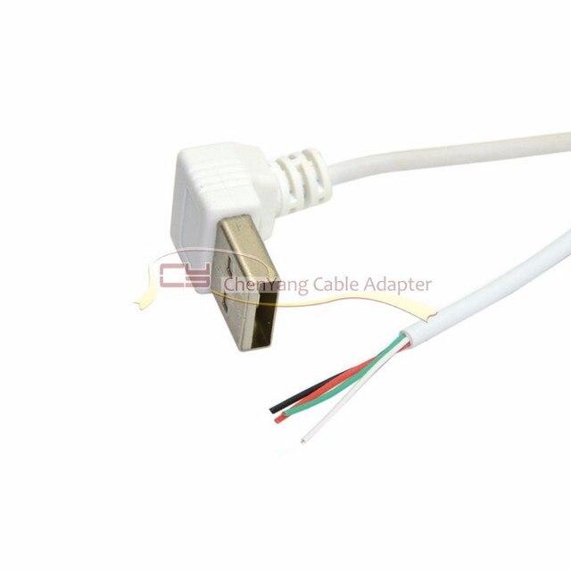 5 STÜCKE USB Kabel 90 Grad Bis Abgewinkelten USB 2.0 Eine Art ...