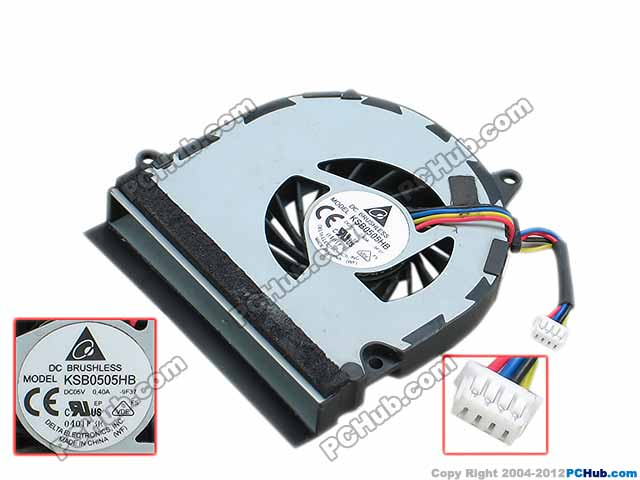 Free Shipping For DELTA KSB0505HB, -9F37 DC 5V 0.40A 4-wire 4-pin connector 45mm  Server Laptop Cooling fan free shipping for delta ksb05105hc dc 5v 0 45a 4 wire 4 pin connector 40mm server laptop cooling fan
