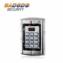 2000 пользователей антивандальный металлический автономный клавиатура и RFID Доступа/card reader sebury B6K-EH плюс поддержка 125 кГц EM карта безопасности дома