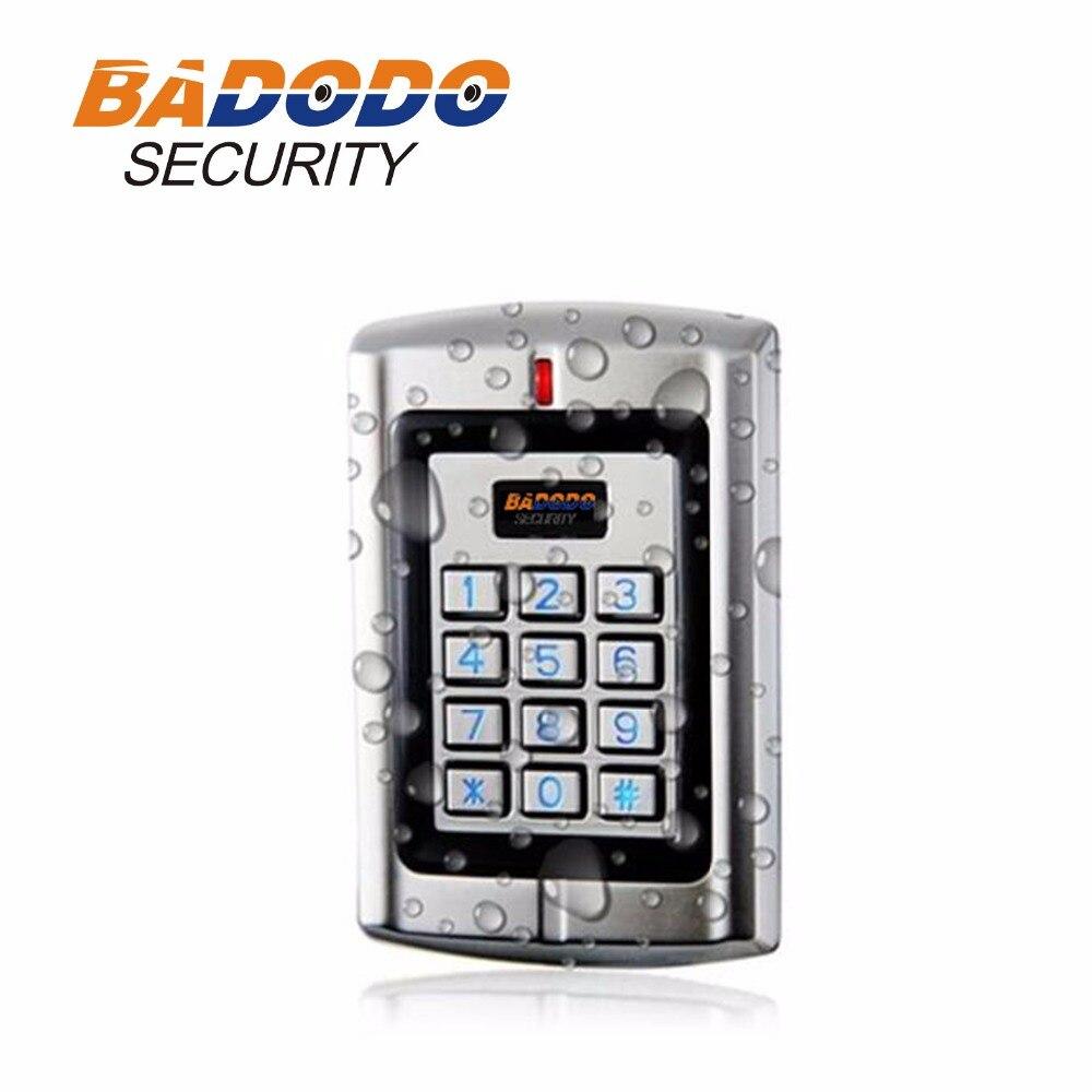 2000 Benutzer Anti-vandal Metall Alone Keypad & Rfid Access/kartenleser Sebury B6k-eh Plus Unterstützung 125 Khz Em Karte Home Security