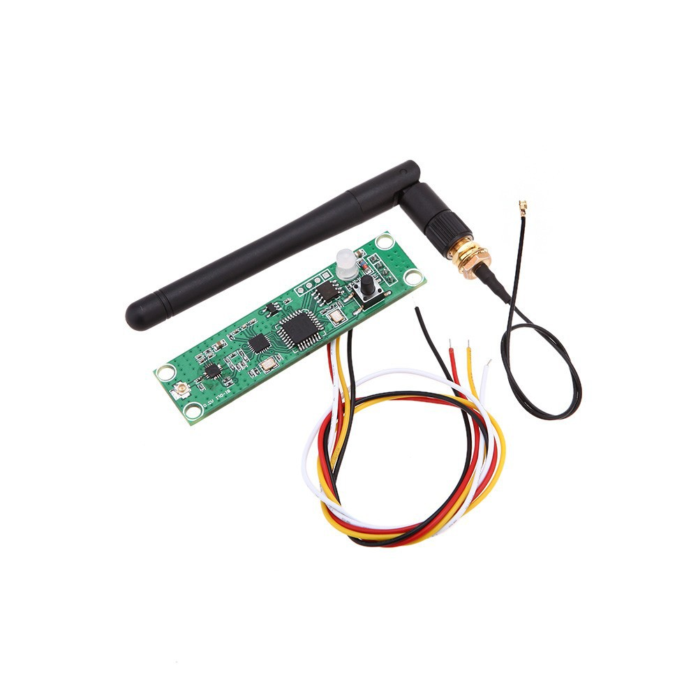 Rasha 1X- 2.4GHZ 2in1 Wireless Receiver&Transmitter DMX512 PCB Modules Board with Antenna LED Controller Transmitter Receiver
