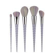5PCS Make Up Foundation Eyebrow Eyeliner Blush Cosmetic Concealer Brushes professional makeup brush  g61103