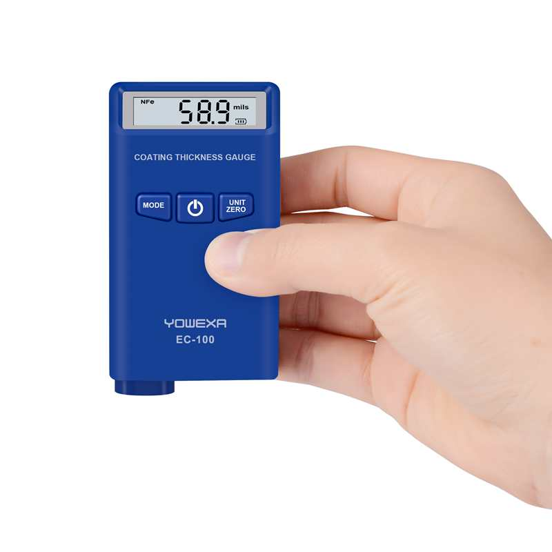 Mini Digital Coating Thickness Gauge 0 2000um Car Auto Film Paint Thickness Meter F N Probe
