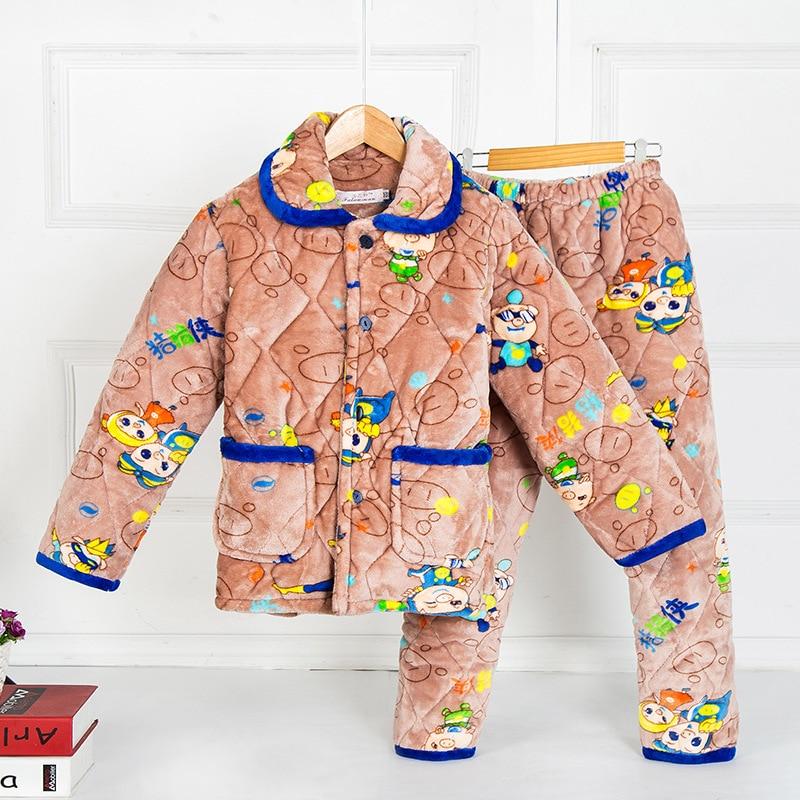 Popular Kids Cotton Flannel Pajamas-Buy Cheap Kids Cotton Flannel ...