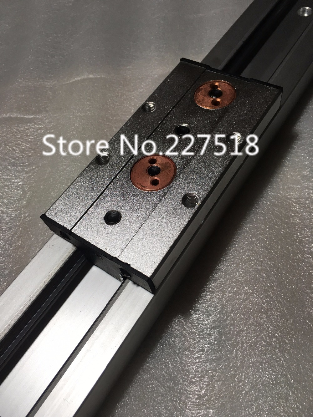 1pcs Double axis roller linear guide SGR20N L650mm +1pcs SGB20UU block multi axis core linear Motion slide rail auminum guide 1pcs linear motion bearings double side rubber seales lm35uu