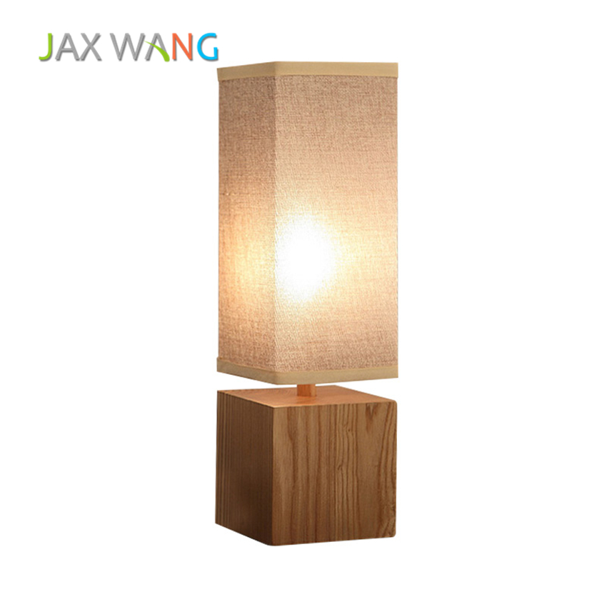 Retro Simple Bedroom Bed Led Table Lamp Japanese Style Creative Personality Decorative Square Table Light Home Lighting HomeRetro Simple Bedroom Bed Led Table Lamp Japanese Style Creative Personality Decorative Square Table Light Home Lighting Home