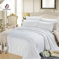 Parkshin Princess Duvet Smooth Luxury Bedding Quilt 100 Silk Comforter For Bedroom Twin Full Queen King