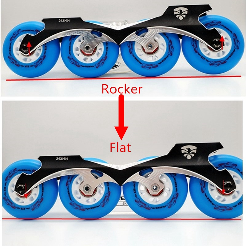 free shipping skates frame banana frame rocker frame and flat frame in one 243 mm frame free shipping roller skates frame rocker frame banana frame with wheels 231 mm and 243 mm