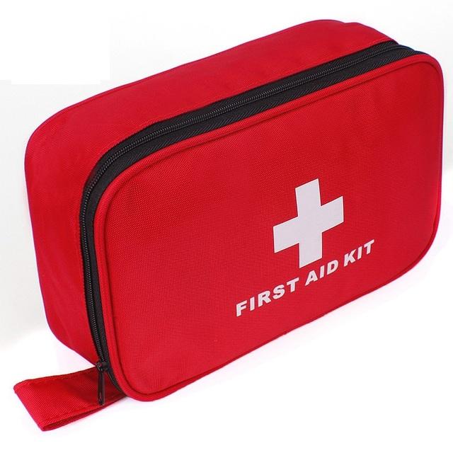 87 pçs/saco Segura Saco De Emergência Kit de Primeiros Socorros Médicos Kits de Sobrevivência de Acampamento Ao Ar Livre Profissional Médico Urgente Pacote FAK-A08
