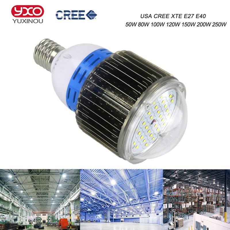 100W 50W 80W Cree LED Bulb Light 120W 150W Cree LED Industrial Light 200W 250W LED