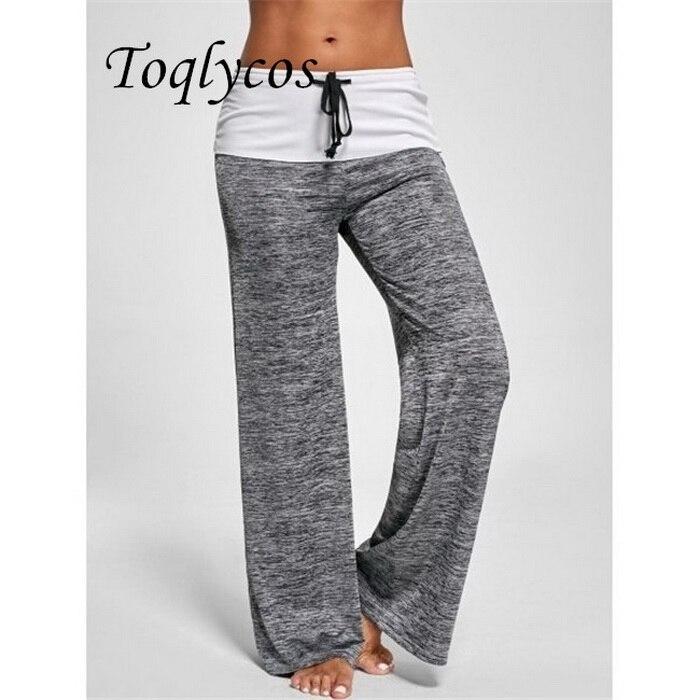 Женские европейские и американские строчки быстросохнущие спортивные брюки для занятий на улице повседневные широкие брюки 387shi