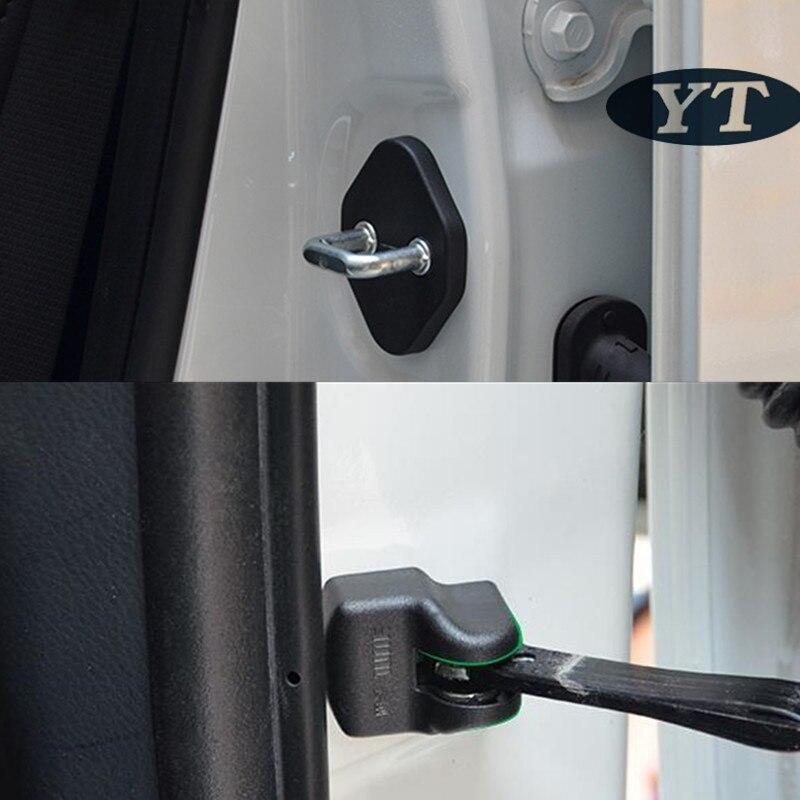 Автоматическая дверная проверка крышка и дверной замок защитная крышка, водостойкий протектор для toyota corolla-,8 шт./лот