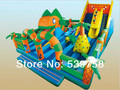 The latest inflatable slides, inflatable castles, Inflatable Bouncer, fish castle!