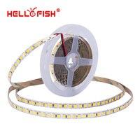 5054 led רצועת 5 m 120 LED אור עמיד למים DC 12 v גמיש אור פס גבוהה בהירות אורות & תאורה קלטת הלו דגים