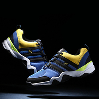 New Running Shoes Men Gray Blue Athletic Sneaker Mens Sports Shoes Running Footwear Autumn Mens Gym