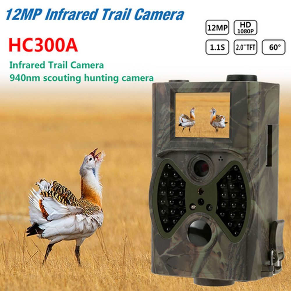 Full 1080P Video Recorder Wireless waterproof camera Hunting Scouting camera 12MP Infrared Trail Camera Security protect