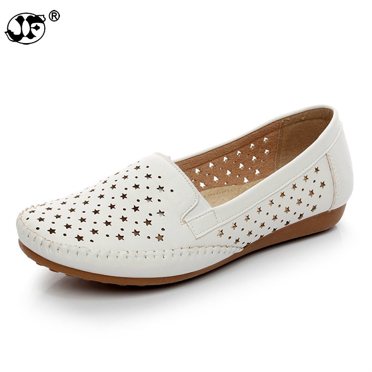Flat Shoes Women Flats ladies Dress Shoes Sneakers white loafers slip -On Casual shoe Womens Shoes casual dress roxy women s lido iii b slip on shoe flat