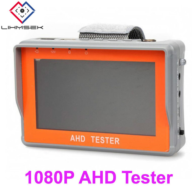US $78 98 |4 3'' Screen 1080P 960P 720P D1 AHD Tester CCTV Tester Monitor  AHD 1080P Analog Cameras Security Surveillance Tester, Free ship-in CCTV