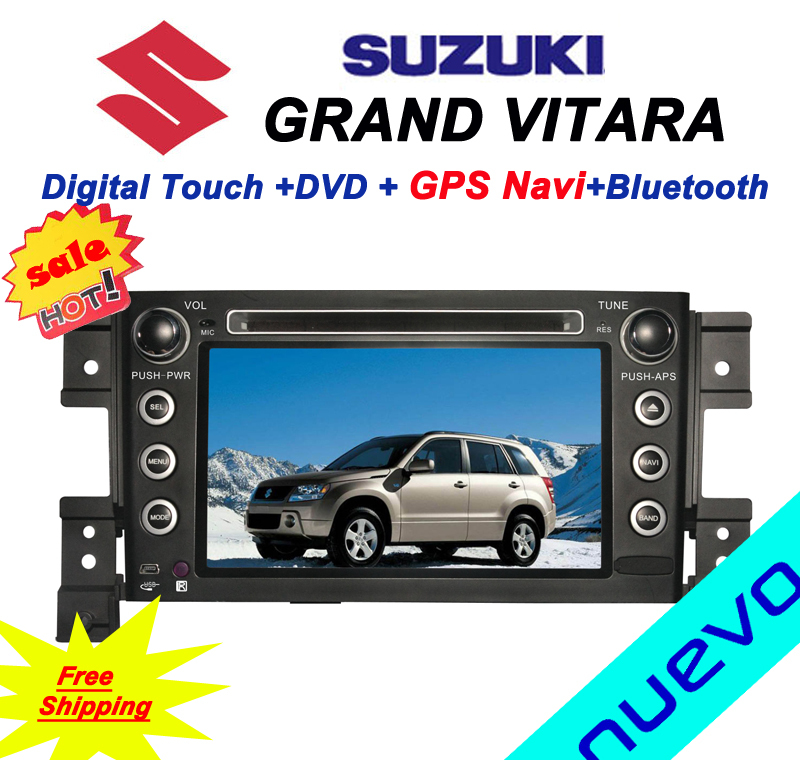 free shipping suzuki grand vitara car dvd gps navigation. Black Bedroom Furniture Sets. Home Design Ideas