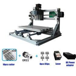 ЧПУ 3018 мини лазерной гравировки лазерный гравер DIY хобби режущие инструменты ER11 GRBL для дерева PCB ПВХ мини ЧПУ CNC3018