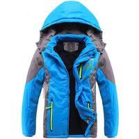 Winter Thicken Children Outerwear Warm Coat Sporty Kids Clothes Double deck Waterproof Windproof Boys Girls Jackets For 3 14T