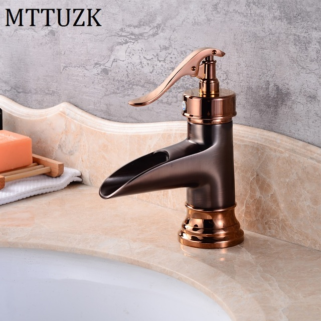 Mttuzk Free Shipping Oil Rubbed Bronze Basin Faucet Brass Vessel