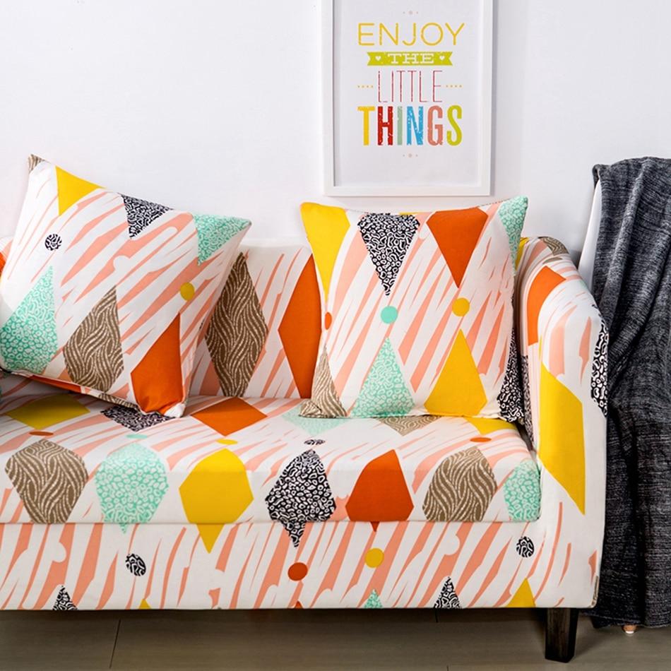 Modern Stretch Sofa Covers For Living Room Polyester 100 Corner Sofa Slipcovers Universal Elastic Sofa Covers