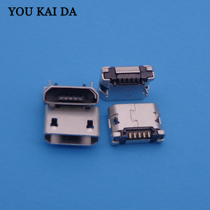 Image 2 - 1000pcs/lot Tablet PC Mobile phone charging socket Micro usb jack for Lenovo / ZTE / HTC / Huawei / OPPO / Coolpad /...