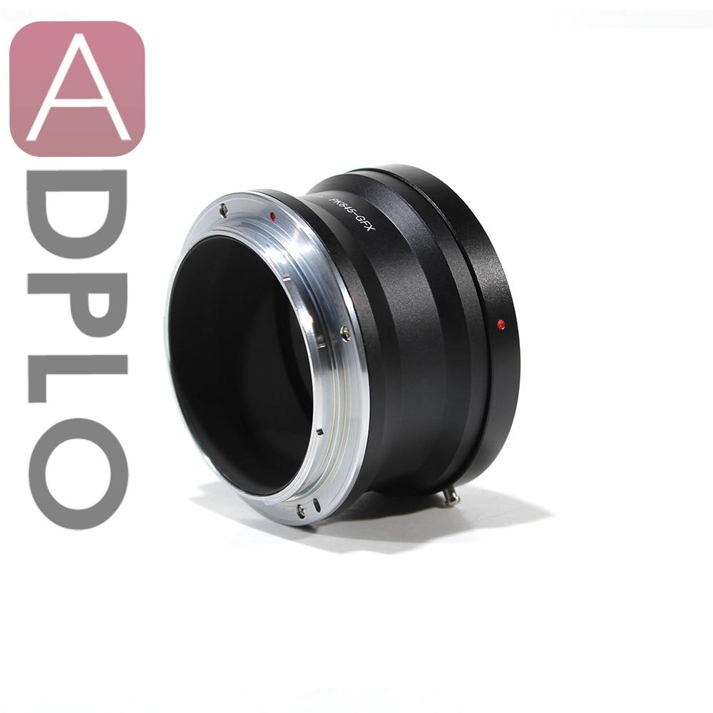 Pixco PK645-GFX Lens Adapter Suit for Pentax 645 Lens to Fujifilm G-Mount GFX Mirrorless Digital Camera such as GFX 50S все цены