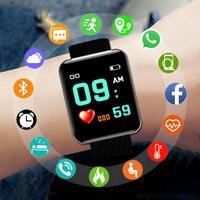 Новый Умные спортивные часы для мужчин для женщин часы цифровой светодиодный электронные Дамы мужской наручные часы для мужчин для женщин.....