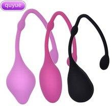 Quyue Medical Silicone Smart Kegel Ball Ben Wa Vagina Tighten Exercise Vaginal Massager Geisha Sex Toys for Women