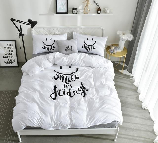 Designer Bed Set Duver Cover Queen Bed Set Bedding Set Fitted Sheet Adult  Bedding Set Cheap