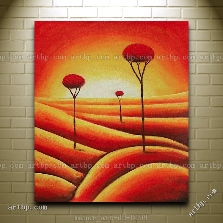 Canvas Wall Art Oil Painting Modern Decor Hand Painted Contemporary ...